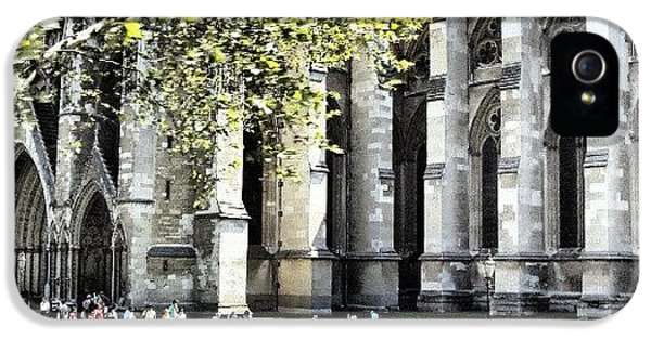 #london2012 #london #church #stone IPhone 5 Case by Abdelrahman Alawwad