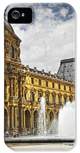 Louvre iPhone 5 Case - Louvre by Elena Elisseeva