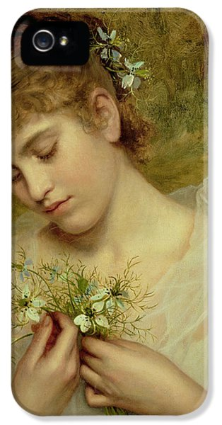 Love In A Mist IPhone 5 Case by Sophie Anderson