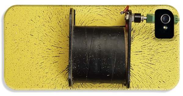 Magnetic Field Of A Solenoid IPhone 5 Case by Andrew Lambert Photography