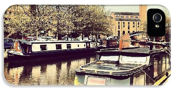 Classic iPhone 5 Case - #manchester #manchestercanal #canal by Abdelrahman Alawwad