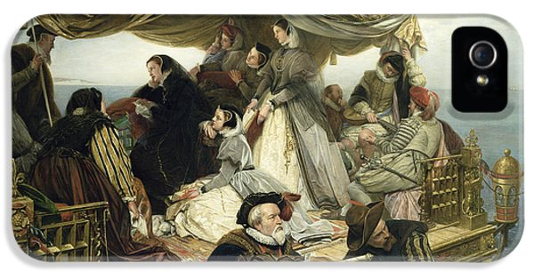 Mary Stuart's Farewell To France IPhone 5 / 5s Case by Henry Nelson O Neil
