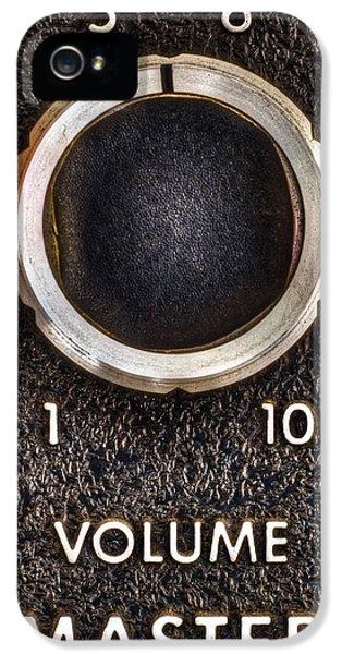 Master Volume IPhone 5 Case by Scott Norris
