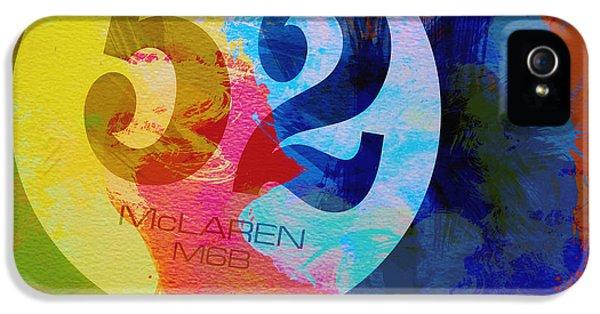 Mclaren Watercolor IPhone 5 Case by Naxart Studio
