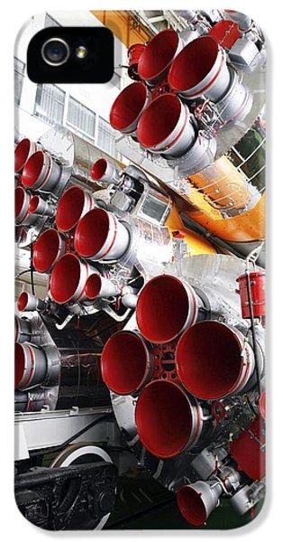 Motors Of A Soyuz Rocket IPhone 5 Case by Ria Novosti