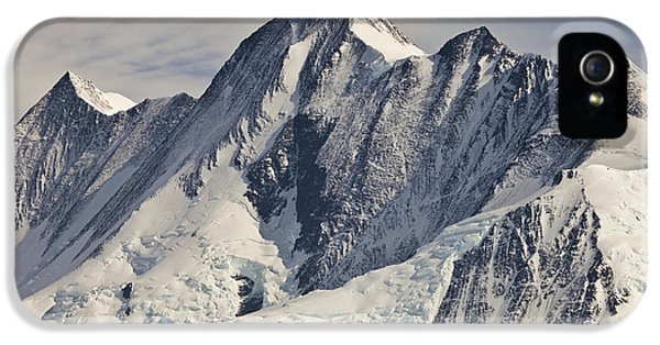 Mountain iPhone 5 Case - Mount Herschel Above Cape Hallett by Colin Monteath