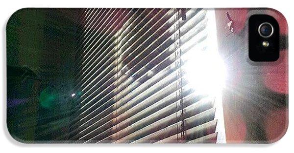Follow iPhone 5 Case - My #window In #morning #sunshine #sun by Abdelrahman Alawwad