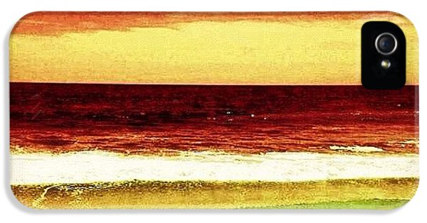 Beautiful iPhone 5 Case - #myrtlebeach #ocean #colourful by Katie Williams