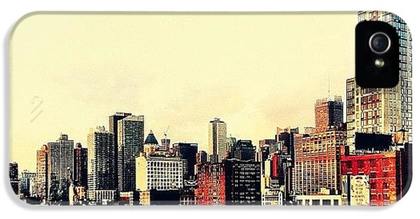 New York City Rooftops IPhone 5 Case