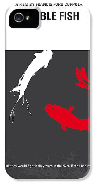 No073 My Rumble Fish Minimal Movie Poster IPhone 5 Case