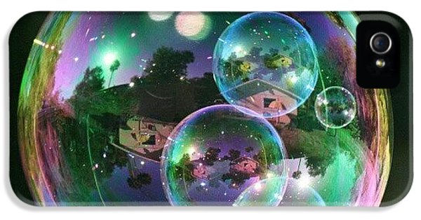 Cool iPhone 5 Case - #nofilter #doubletap #bubbles by Mandy Shupp