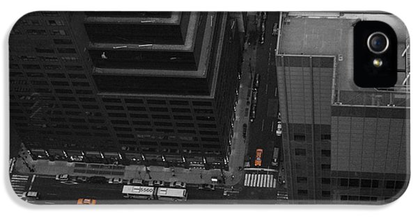 Nyc From The Top 1 IPhone 5 / 5s Case by Naxart Studio