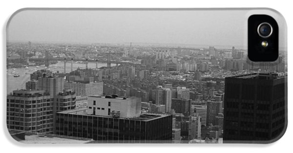 Nyc From The Top 2 IPhone 5 / 5s Case by Naxart Studio