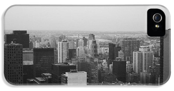 Nyc From The Top 3 IPhone 5 Case by Naxart Studio