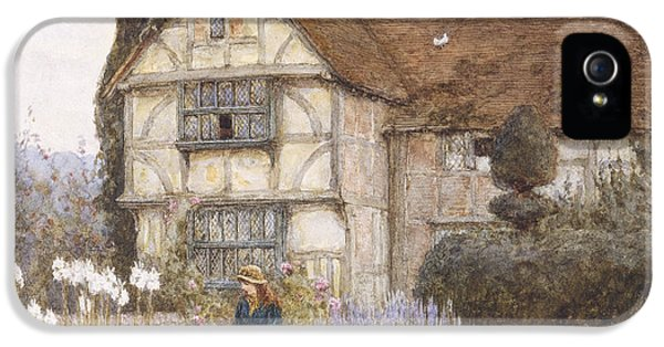 Garden iPhone 5 Case - Old Manor House by Helen Allingham