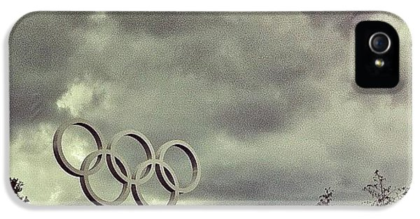 #olympicpark #olympics #london2012 IPhone 5 Case by Samuel Gunnell
