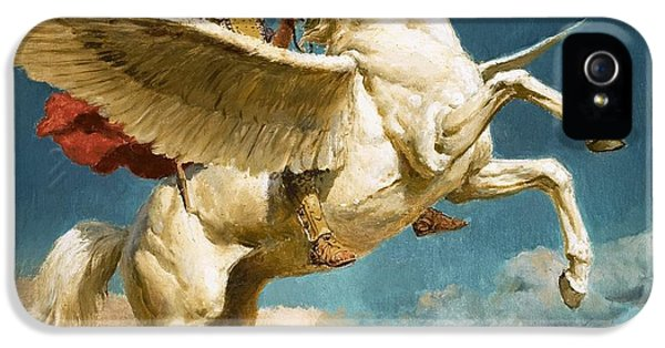 Pegasus The Winged Horse IPhone 5 Case by Fortunino Matania