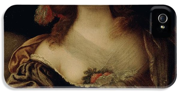 Portrait Of A Young Woman  IPhone 5 Case by Girolamo Forabosco