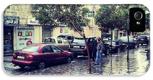 Classic iPhone 5 Case - Rainbow Street #amman #jo #jordan by Abdelrahman Alawwad