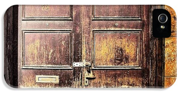 House iPhone 5 Case - Random Door In Liverpool Streets by Abdelrahman Alawwad
