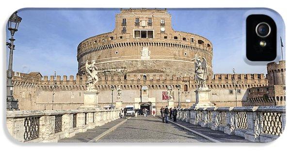 Rome - Castel Sant'angelo IPhone 5 Case by Joana Kruse