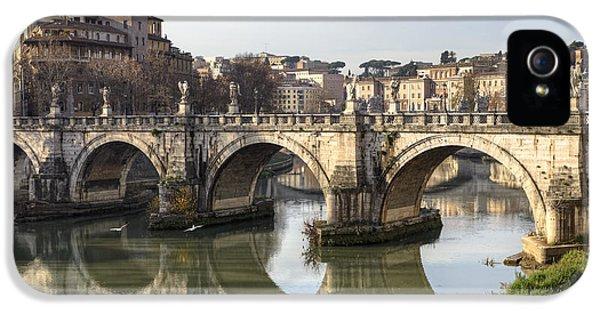 Rome - Ponte Sant'angelo IPhone 5 Case