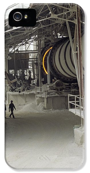 Rotary Kiln For Lime Burning IPhone 5 Case