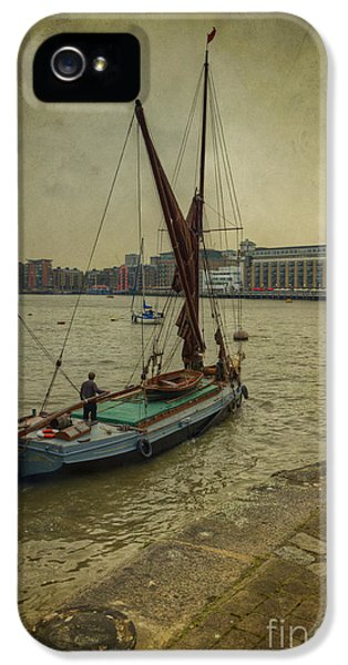 IPhone 5 Case featuring the photograph Sailing Away... by Clare Bambers