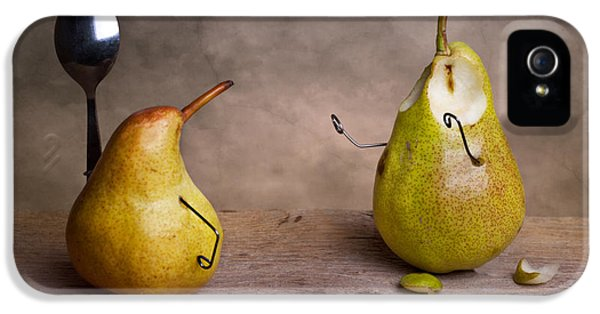Pear iPhone 5 Case - Simple Things 13 by Nailia Schwarz