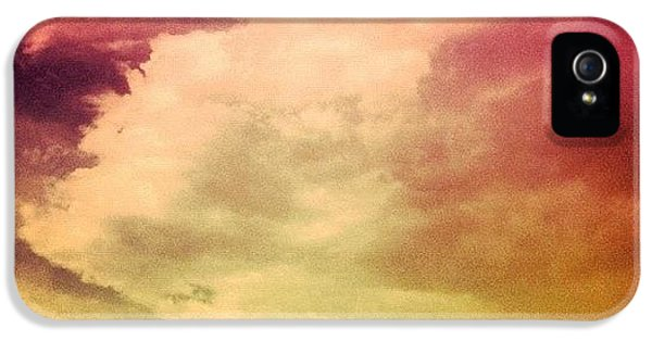 #sky #cary #colourful #clouds ☁ IPhone 5 Case