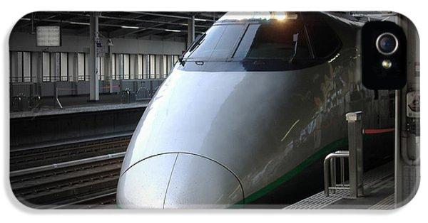 Train iPhone 5 Case - Speed Train by Naxart Studio