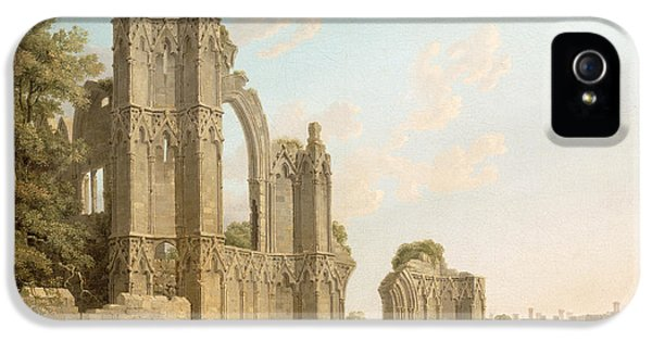 St Mary's Abbey -york IPhone 5 Case