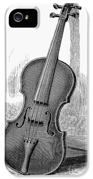 Violin iPhone 5 Case - Stainer Violin by Granger