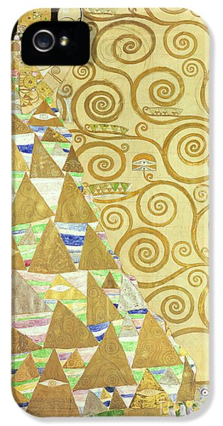 Study For Expectation IPhone 5 Case by Gustav Klimt