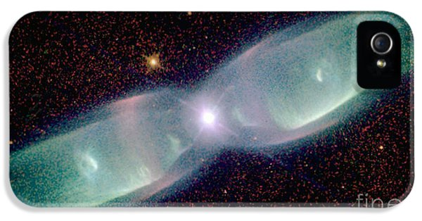 Supersonic Exhaust From Nebula IPhone 5 Case by STScI/NASA/Science Source