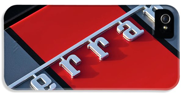 Team Ferrari IPhone 5 Case by Douglas Pittman