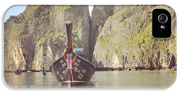 iPhone 5 Case - #thailand #phuket #mayabeach #mayabay by Mohamed Shafy