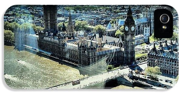 Thames River, View From London Eye | IPhone 5 Case by Abdelrahman Alawwad