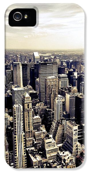 The Chrysler Building And Skyscrapers Of New York City IPhone 5 Case