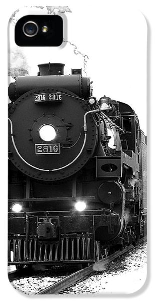 Train iPhone 5 Case - The Empress by Vivian Christopher