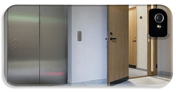 The Lifts And Hallway At The New IPhone 5 Case