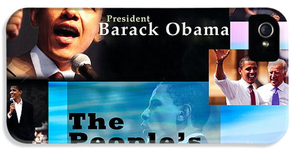 The People's President IPhone 5 Case by Terry Wallace