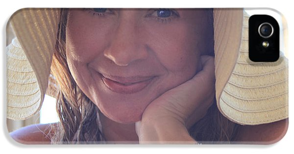 This Smile Was For You IPhone 5 Case by Laurie Search