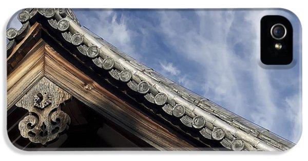 Toshodai-ji Temple Roof Gargoyle - Nara Japan IPhone 5 Case