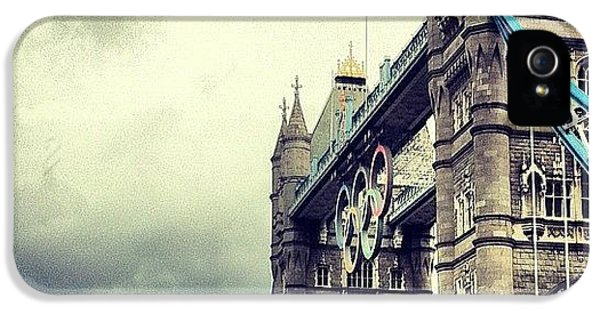 Tower Bridge 2012 IPhone 5 Case by Samuel Gunnell