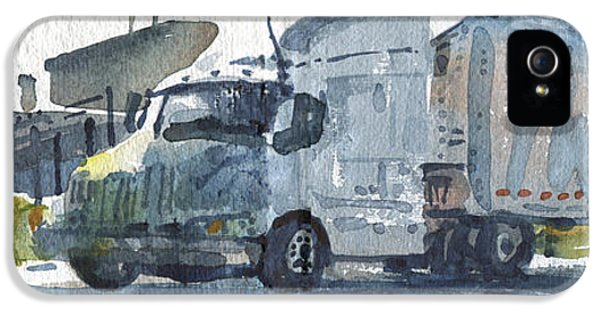 Truck Panorama IPhone 5 Case by Donald Maier