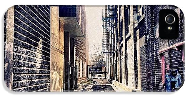 Instahub iPhone 5 Case - Urban Alley by Christopher Campbell