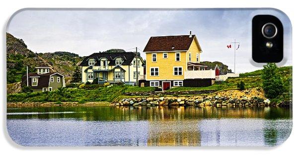 Village In Newfoundland IPhone 5 Case by Elena Elisseeva