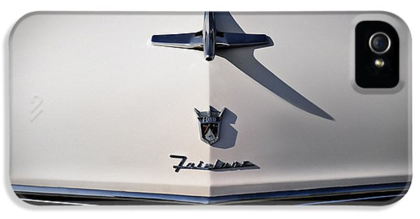 Vintage Ford Fairlane Hood Ornament IPhone 5 Case