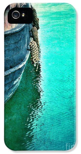 Vintage Ship IPhone 5 Case by Jill Battaglia